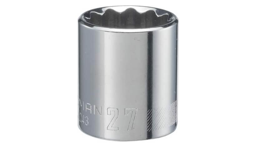 KAWASAKI-KRX-1000-CRAFTSMAN-Shallow-Socket-Metric-half-Inch-Drive-27mm-12-Point-CMMT44243